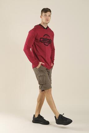 Oksit Coll City Donald Slim Fit Mevsimlik Kapüşonlu Sweatshirt 2