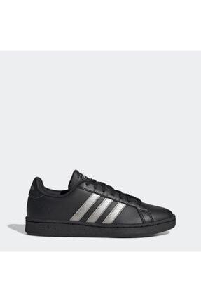 adidas GRAND COURT Siyah Kadın Sneaker Ayakkabı 101069034 0