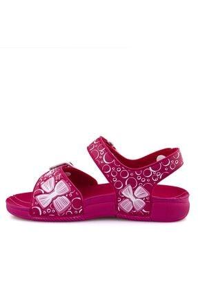 Ceyo Fuşya E Ortopedik Kız Çocuk Sandalet 3