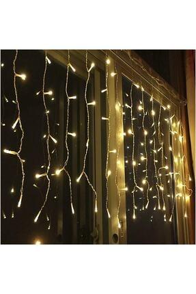 Sezy Eklemeli Perde Led Işık Ip Saçak Sarkıt Yılbaşı Çam Ağacı Dekor Animasyonlu 4x50*60*70 1