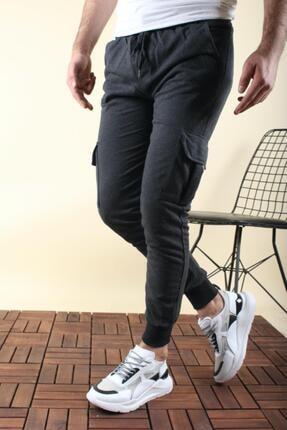 Oksit Masi Slim Fit Komanda Kargo Cep Erkek Eşofman Altı 0