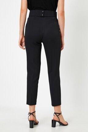 Koton Kadın Yüksek Belli Cigarette Siyah Pantolon 1kak43723ew 2