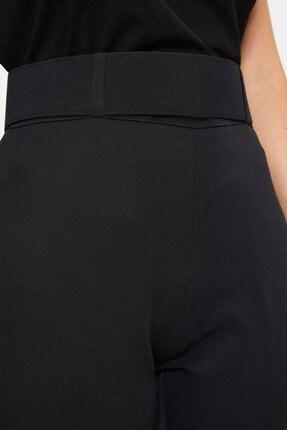 Koton Kadın Yüksek Belli Cigarette Siyah Pantolon 1kak43723ew 3