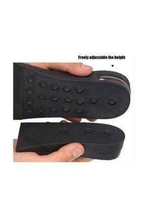3M Ünisex 5 Cm Tam Boy Uzatıcı Tabanlık Hava Yastıklı Uzatan Ayakkabı Tabanlığı Gizli Topuk Yükselten 1