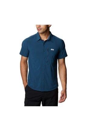 Columbia Triple Canyon Solid Short Sleeve Iı Erkek Kısa Kollu Gömlek Ao0753-348 0
