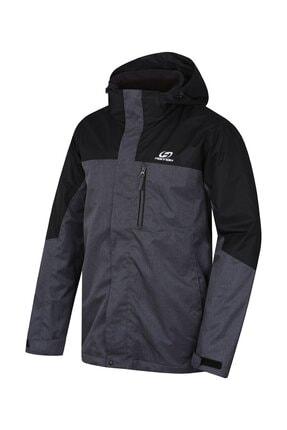 Erkek Antrasit Sigfred 3 In1 Outdoor Jacket Mel Mont resmi