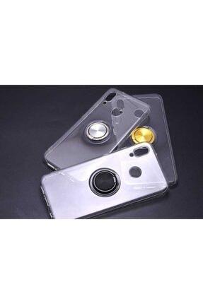 MMC Huawei P20 Lite Manyetik Yüzüklü Silikon Kılıf 0