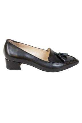 Ustalar Ayakkabı Çanta Siyah Kadın Hakiki Deri Stiletto 364.2017 1