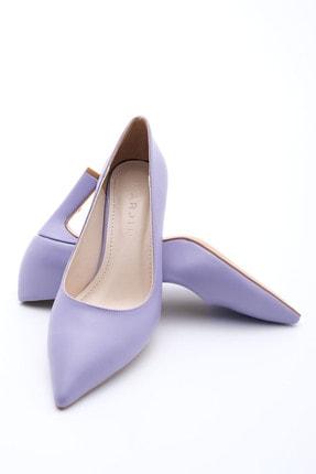 Marjin Kadın LİLA Stiletto Topuklu Ayakkabı Akuna 1