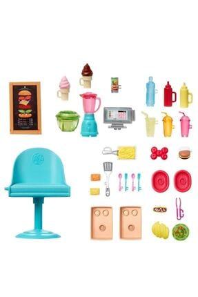 Barbie Yemek Arabası Oyuncak Gmw07 4