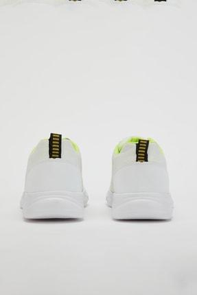 Muggo Unisex Beyaz Yeşil Sneakers Ayakkabı Svt17 4