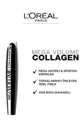 L'Oreal Paris Mega Volume Collagene 24H Siyah Maskara 4