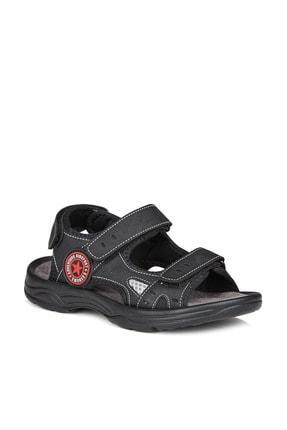 Vicco Delta Erkek Çocuk Siyah Sandalet 0