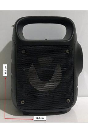 Polygold Bluetooth Hoparlör Taşınabilir Kablosuz Wireless Speaker-el Fenerli-usb -sd Kart Mikrofon Girişli 3