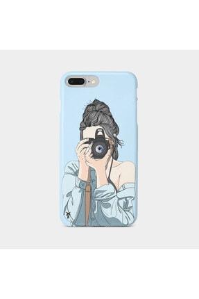 Roxo Case Iphone 8 Plus Baskılı Mavi Lansman Kılıf 0