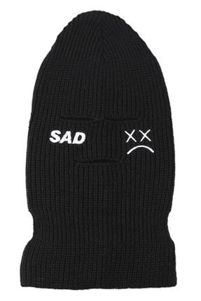 zirve şapka Kışlık Unisex 3 Gözlü Kar Maskesi Siyah 2