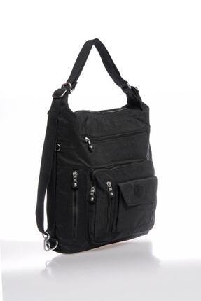 Smart Bags Smbky1205-0001 Siyah Kadın Omuz Ve Sırt Çantası 3
