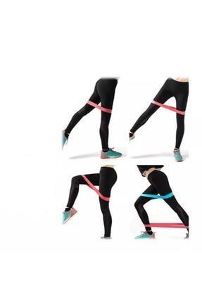 TechnoSmart 2 Li Farklı Dirençte Aerobik Bandı Pilates Squat Çalışma Lastiği 3