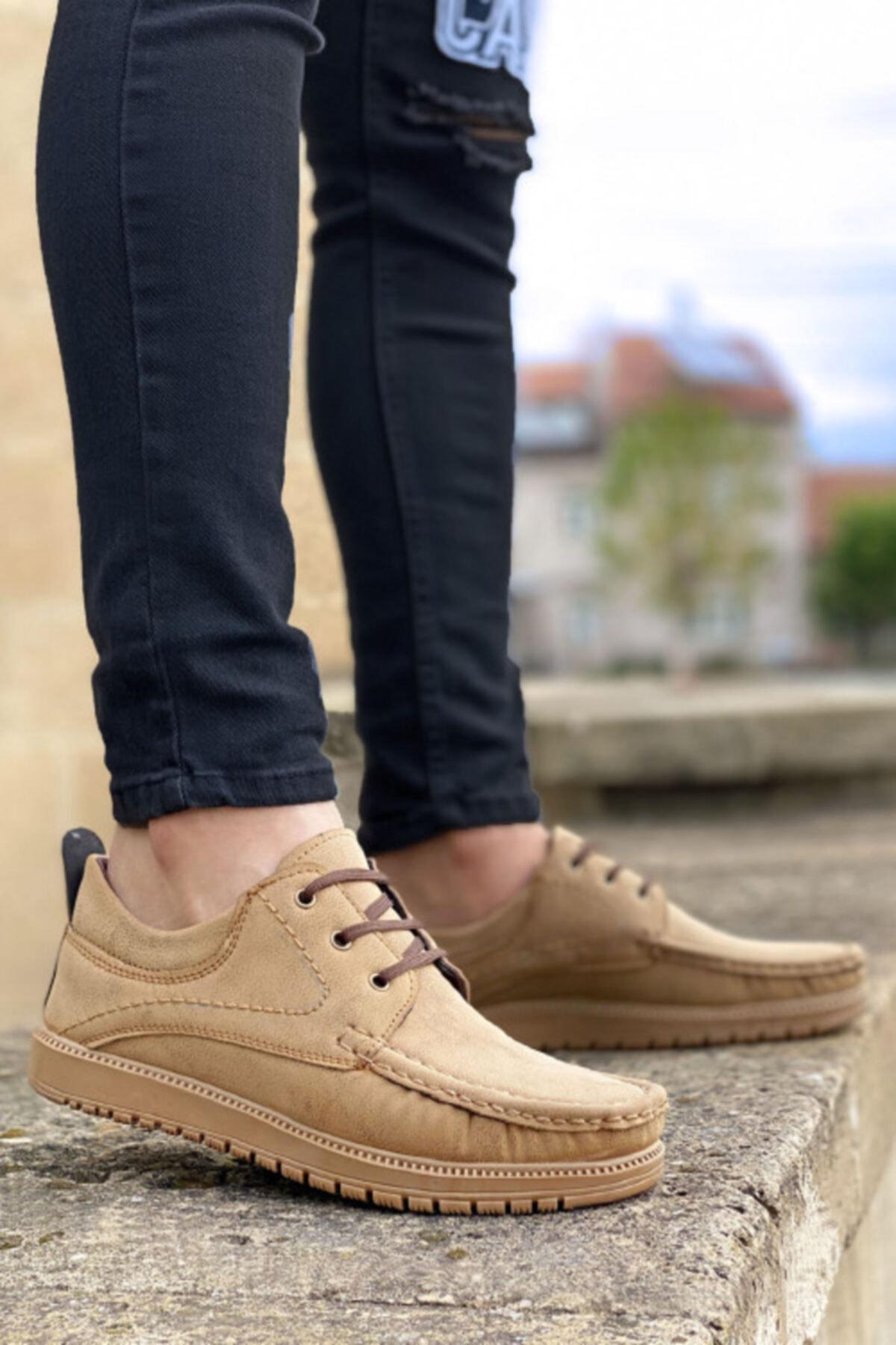 Vizon Bağcıklı Erkek Ayakkabı