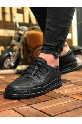 Marsetti Erkek Siyah Spor Ayakkabı 0