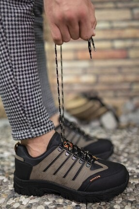 Riccon Vizon Siyah Erkek Trekking Ayakkabı 0012115 3