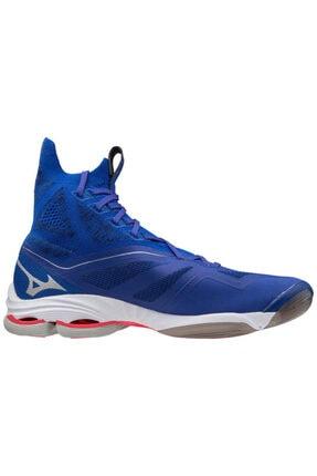 Picture of Erkek Mavi Bağcıklı Wave Lightning Neo Voleybol Ayakkabısı
