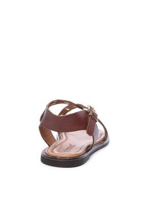 Kemal Tanca Kadın Derı Sandalet Sandalet 169 7282 Bn Sndlt 2