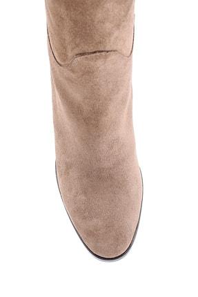 Derimod Kadın Süet Topuklu Çizme 3