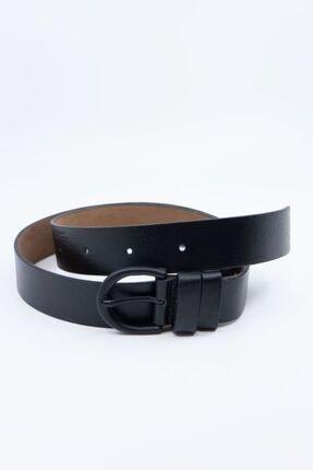Shaka Siyah Tokalı Kemer Genişlik 3,3cm 0029 1
