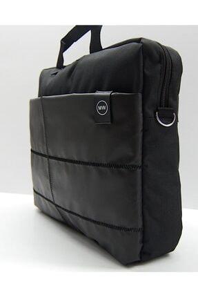 """The Moda West 15.6"""" Siyah Evrak Bilgisayar Notebook Laptop Çantası 0"""
