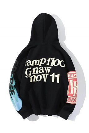 Trendiz Kanye Oversıze Sweatshirt Siyah Tr30026 1