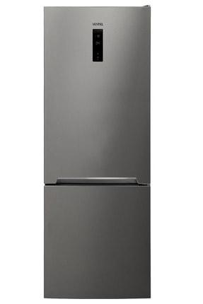 VESTEL NFK5402 EX A++ GI WIFI 540 Lt No-Frost Kombi Inox Buzdolabı 0