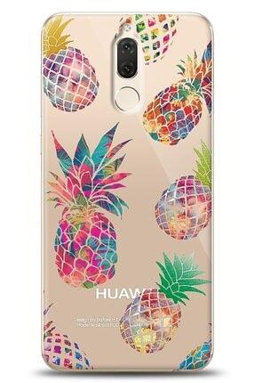Eiroo Huawei Mate 10 Lite Iridescent Pineapple Kılıf 0