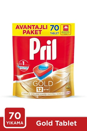 Pril Gold 70 Tablet Doypack *2'liset 1