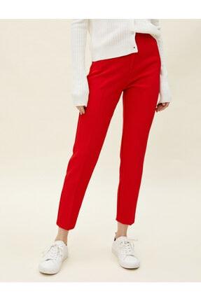 Koton Kadın Kırmızı Cigarette Pantolon 2