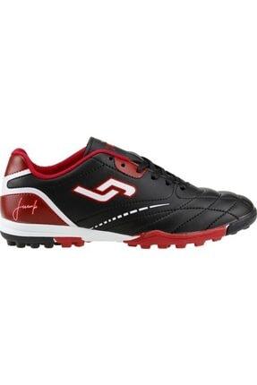 20351 Siyah Kırmızı Halısaha Erkek Çocuk Ayakkabı resmi
