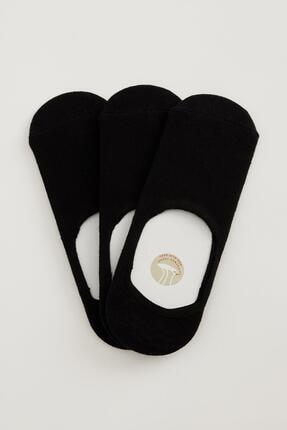 Defacto Basic 3'lü Babet Çorabı 0