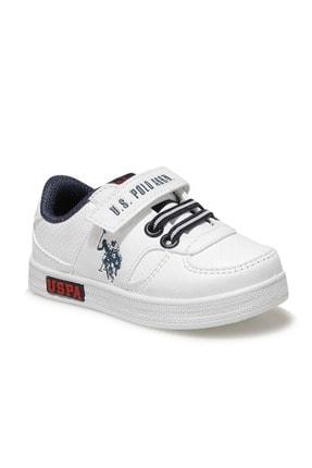 US Polo Assn CAMERON 1FX Beyaz Erkek Çocuk Sneaker 100909775 0