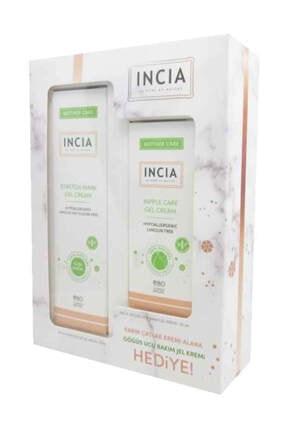 INCIA Stretch Mark Gel Cream 75ml + Nipple Care Gel Cream 30ml Set 0