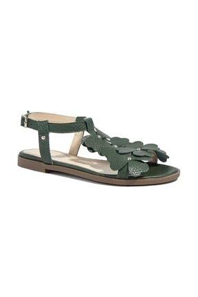 Desa Belle Kadın Deri Sandalet 0