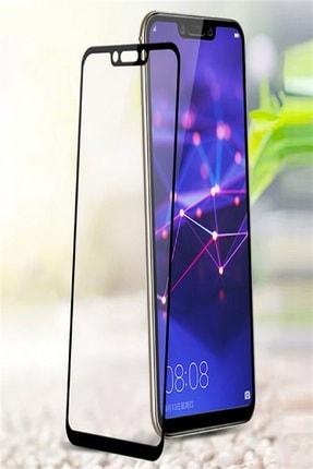 Huawei Mate 20 Lite Kavisli Tam Kaplayan 9D Ekran Koruyucu Film 1