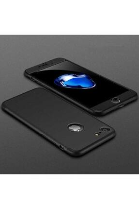 NOVA AKSESUAR Apple Iphone 6s Plus Kılıf Zore 3 Parçalı 360 Tam Korumalı Kılıf Ays Kapak-siyah 0