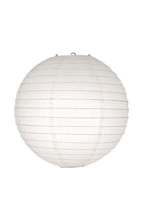 Kikajoy Japon Feneri Beyaz 30 Cm 0
