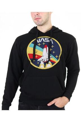 Yellow and Black Store Nasa Kapüşonlu Sweatshirt Sweat Hoodie Unisex 0