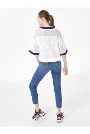 Twist Ribana Yaka Crop Bluz 3