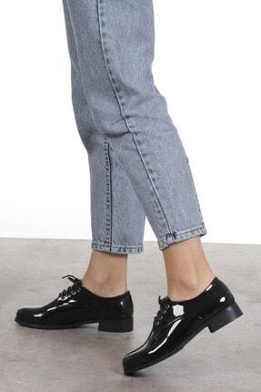 Mio Gusto Berta Siyah Rugan Oxford Ayakkabı 3