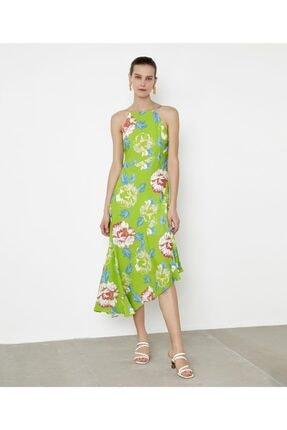 İpekyol Çiçek Desen Askılı Elbise 1
