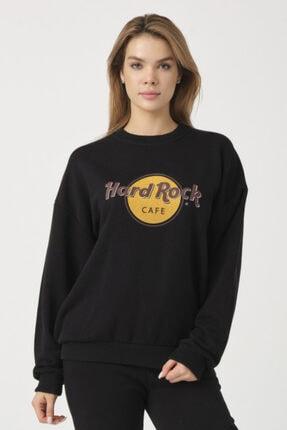 to COSMOS Oversıze Sweatshırt Hard Rock Renk Sıyah 0