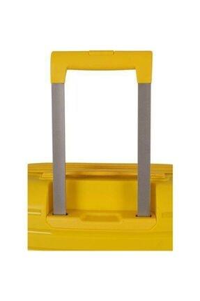 GROUND Polipropilen Kabin Boy Kırılmaz Valiz Sarı 3