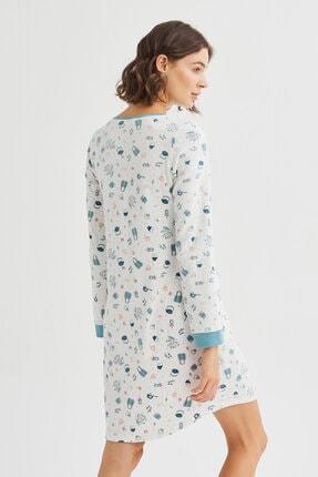 Penti Beyaz Me Time Termal Elbise 3